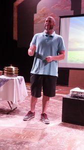 Matt giving Table Talk