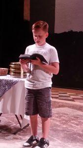 Wyatt Reading Scripture